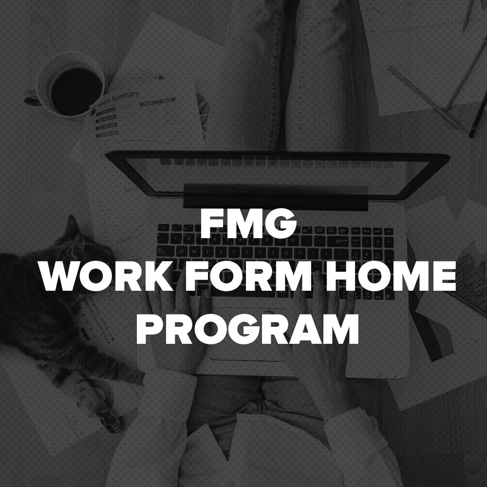 WORK FROM HOME PROGRAM